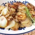新じゃが芋のリヨン風ソテー。 by musashiさん