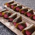 道明寺粉で作る春の和菓子