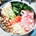 【超簡単】創味シャンタンで作る!胡麻豆乳キムチ鍋の作り方