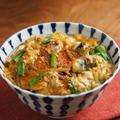 さんま缶詰の卵とじ丼、柳川丼