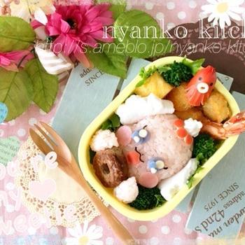 プリキュア アラモード☆ペコリンのお弁当とラスト遠足