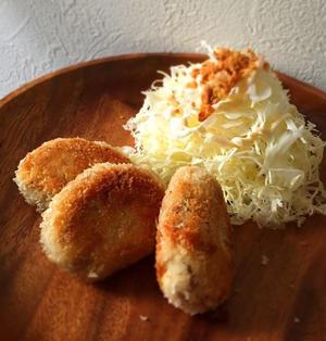 糖質、カロリーOFF♡おからお豆腐の美味コロッケ