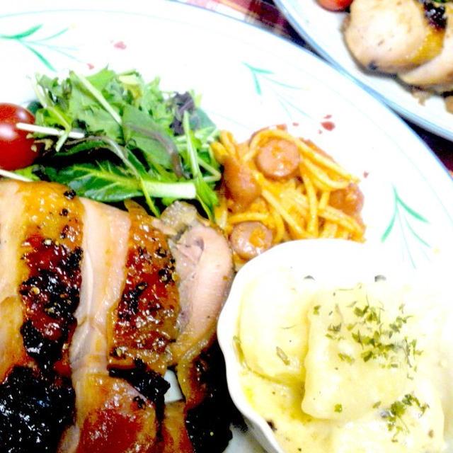【レシピ】チキンハーブのオーブン焼き(^^♪