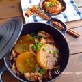 しみしみ とろぉ〜り 豚バラ大根〜中華風豚と大根の炒め煮〜*スイートパンプキンケーキ。