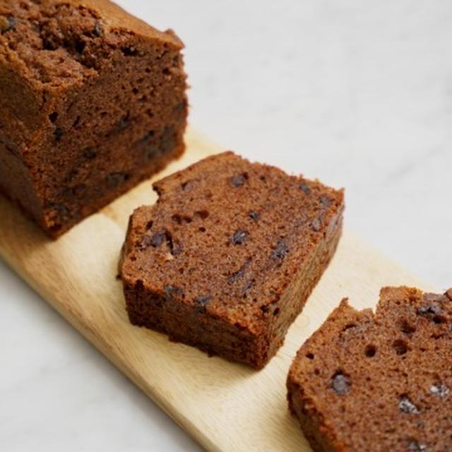 米粉チョコパウンドケーキのレシピ