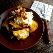 【簡単!!カフェおやつ】さつまいものクリームチーズバター