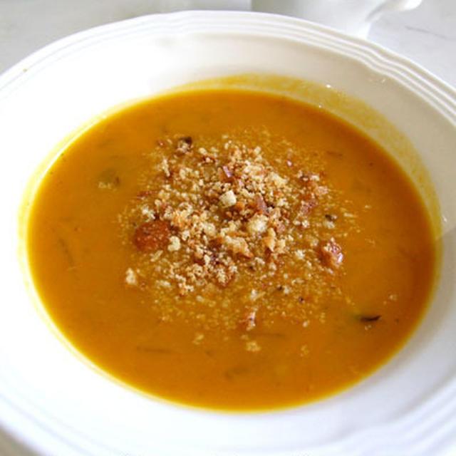 ひと味違うかぼちゃスープ/ ちびは病院へ