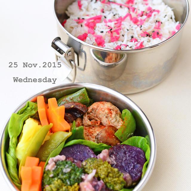 11月25日 水曜日 鮭白子とマッシュルームのアヒージョ&釜揚げしらすと生姜梅酢漬けごはん