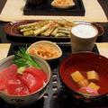 疲れた日には簡単マグロ丼&四方竹炒め by shoko♪さん