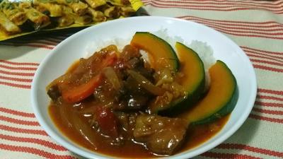 ナツメグ香る❤圧力鍋でやわらかく煮込んだ~牛すじ肉のハッシュドビーフ