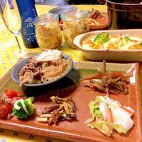 澪と 和食プレートデイナー♪ストウブで 肉豆腐♪