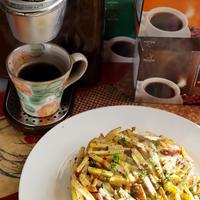 【ネオトレビエでいただく ハッシュドポテト風おやつ】おじゃが&里芋で。