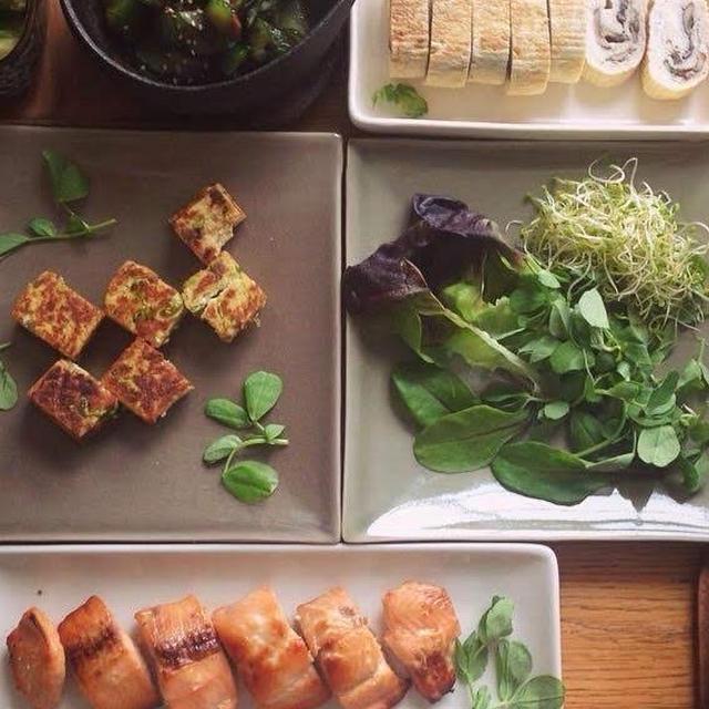 賄い仕込み記録:三月のサーモンの味噌漬けと野菜献立