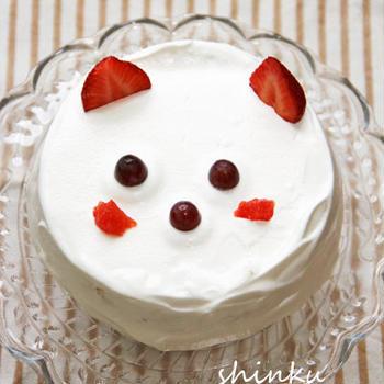 母の日*子ども共同制作ケーキ