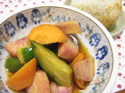 >*野菜の酢醤油漬け by ひめやんさん