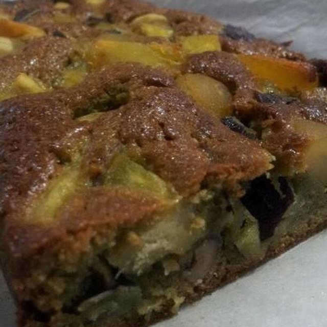 『栗とサツマイモと抹茶のケーキ』