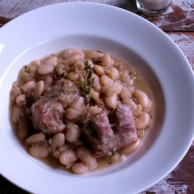 塩麹豚と豆のハーブ煮込み&塩麹ペースト