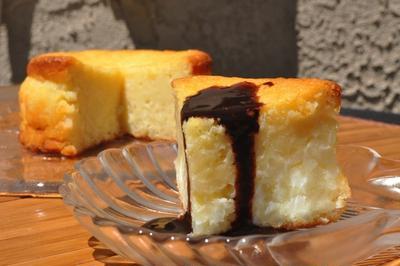 カレー風味のライスケーキ