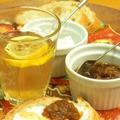 【うちレシピ】フルブラで漬けたグレープフルーツのジャム / クリームチーズと一緒にバケットにのせてウマウマ♪