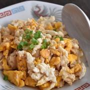 卵だけで作る上海蟹風料理「シェフェンダン」が話題♪