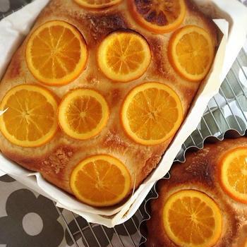 オレンジのフォカッチャ