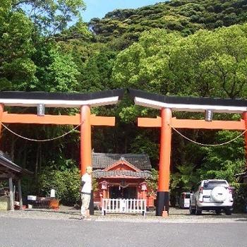 鹿児島旅行 ~諏訪神社・パノラマパーク~