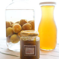 【レシピ】梅しごと2019 梅シロップ、梅ジャム、梅酒