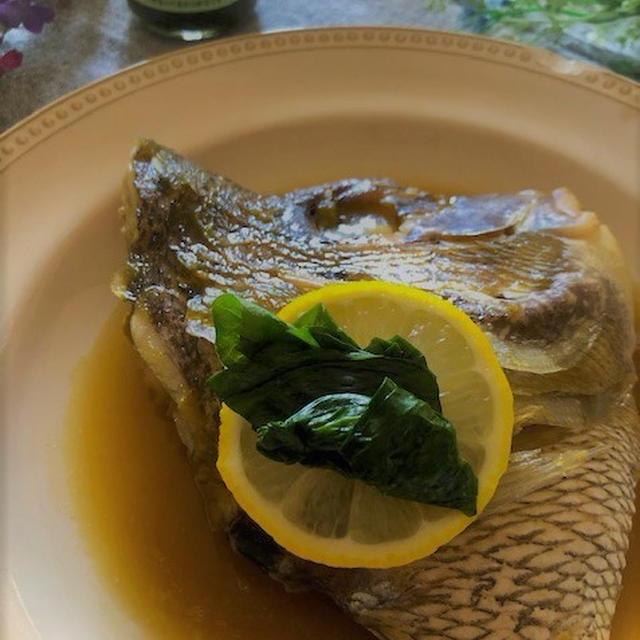魚料理に☆鯛のあら炊き~ジャムが隠し味~