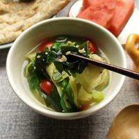 なす麺プラスでリケンの『焙煎ごまスープ』がさらにボリュームアップ☆