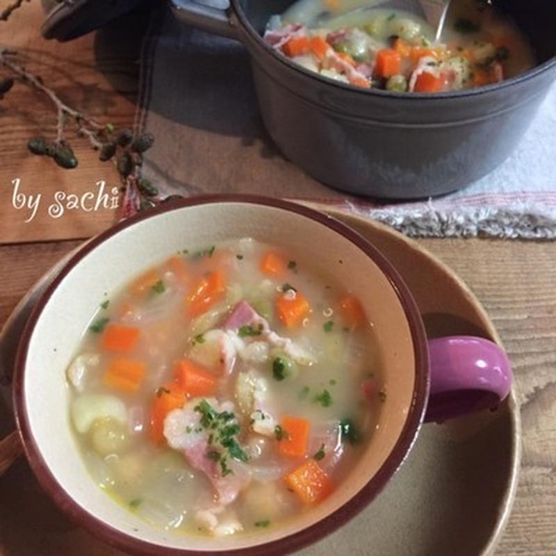 春から初夏の体調管理は具たくさんスープで!