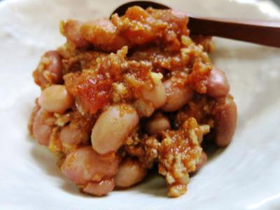 金時豆のチリコンカン