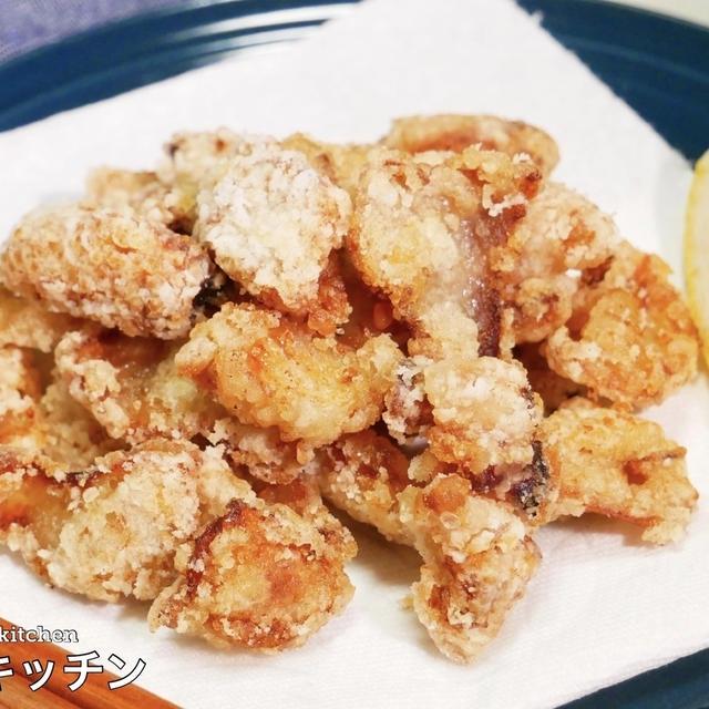 皮 レシピ 鶏