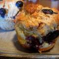 Macrobiotic Blueberry Muffin マクロビブルーベリーマフィン