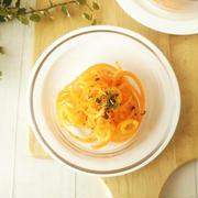 フルーツキャロットのレモンペパーソテー《減塩レシピ》