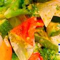 [濃厚ソースで野菜がもっと美味しくなる!] 〜温野菜のサラダ タヒニソース〜