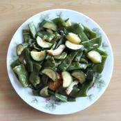 夏野菜で簡単炒め物