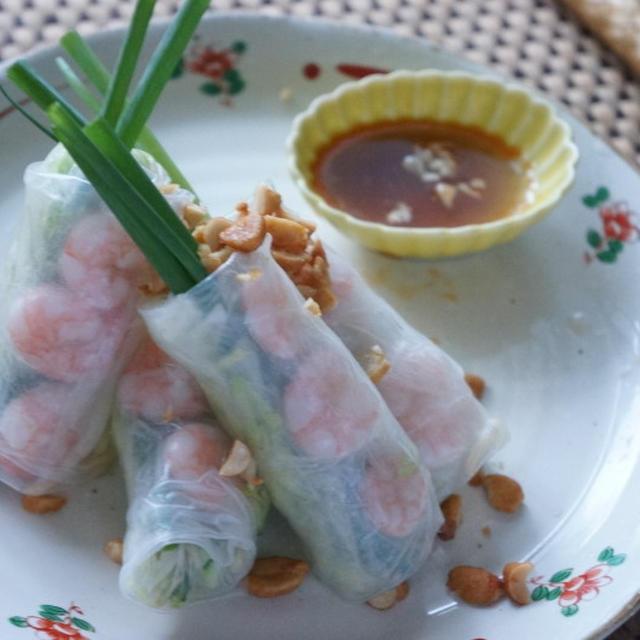 *レシピ*ベトナム風生春巻き