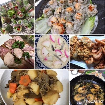 ❤️おせち❤️リメイク夕食❤️