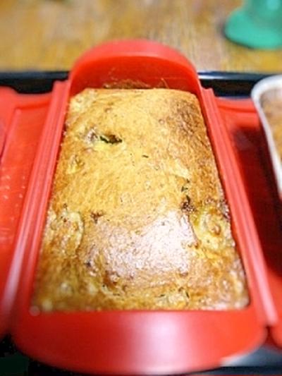 黒糖豆乳バナナパウンドケーキ