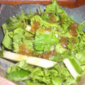 レタスとパクチーのサラダ