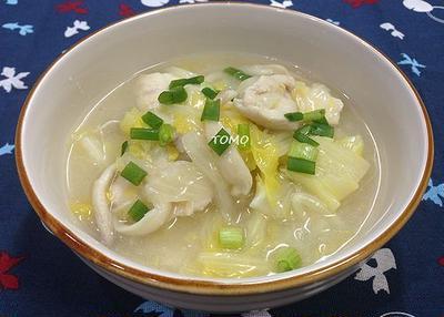 白菜消費に!白菜と鶏胸肉のトロトロ煮