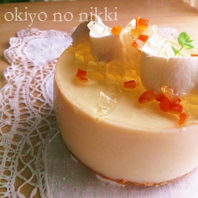 改良!お豆腐レアチーズケーキ