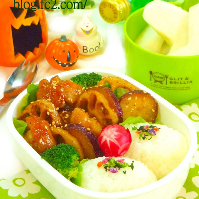 根菜とブロッコリーのデパ地下風 3日分のお弁当 お弁当レシピ カフェレシピ