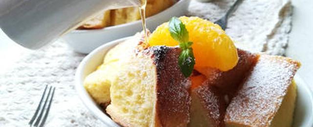 冷蔵庫にある「ジュース」で作る変わり種「フレンチトースト」