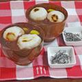あずき缶で超簡単!3分でつくった お餅と栗甘露煮のぜんざい by KOICHIさん