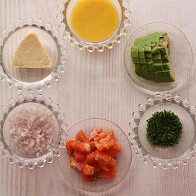 料理 撮影 アボカドとクリームチーズのパルフェ