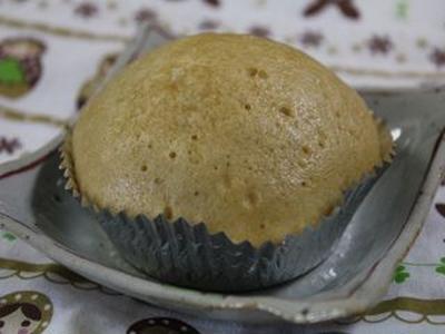 コーヒー風味の豆乳蒸しパン