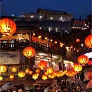 台湾2日目♪ 九份〜夜市の夜景と屋台グルメ