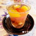 『たこ焼きパーティー』&「沖縄ぜんざい入りフルーツ寒天」♪ Party & Agar Jelly