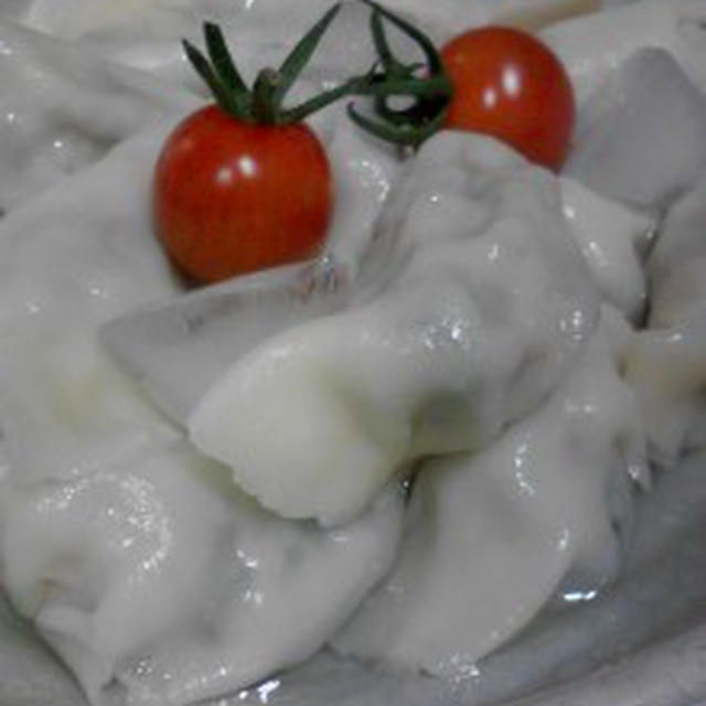 『冷た~イ水餃子』